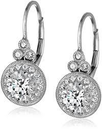 platinum plated sterling silver and