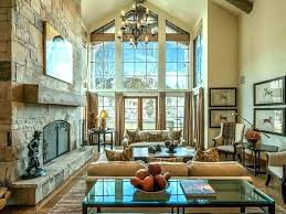 vaulted ceilings living room ideas