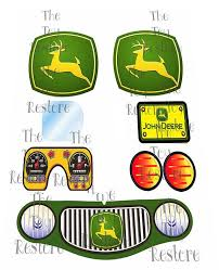New Johndeere Replacement Decals Stickers For Vtg Littletikes Cozycoupemakeover Car Cozy Coupe Cozy Coupe Makeover Little Tykes Car