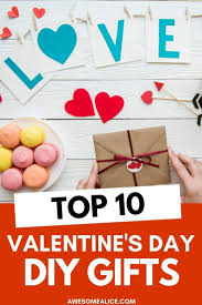 diy valentines day gifts your family
