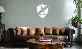 Hp Ravenclaw House Raven Shield Vinyl Wall Mural Decal Home Decor Sticker
