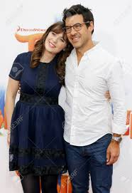Zooey Deschanel And Jacob Pechenik At The Los Angeles Premiere.. Stock  Photo, Picture And Royalty Free Image. Image 64564648.