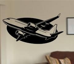 Airplane Version 102 Vinyl Wall Decal Sticker Car Window Truck Decals Ezwalldecals
