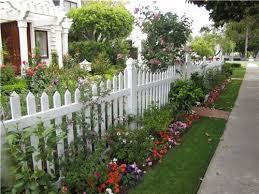 Country Landscape Design Landscaping Network Fence Landscaping Side Yard Landscaping Picket Fence Garden