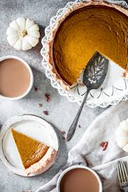 best ever healthy pumpkin pie
