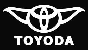 Yoda Starwars Parody Toyoda Vinyl Decal Sticker Star Wars Etsy