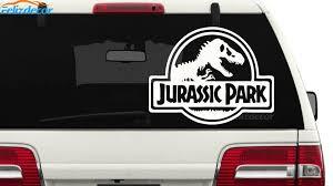 12x16cm Jurassic Park Sticker Car Decal Waterproof Sticker Art Bumper Car Window Decor Pattern New T107 Car Stickers Aliexpress