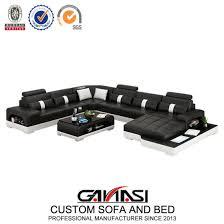 max divani 7 seater leather corner sofa