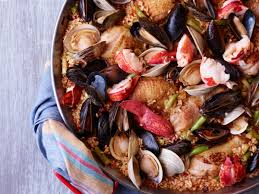 Chicken-and-Seafood Paella Recipe ...