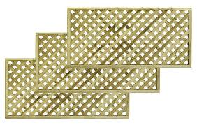 woodbury timber square trellis panel h