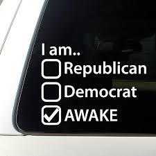I Am Awake Window Decal Sticker Anonymous Republican Democrat Masonic Government Stickers Aliexpress