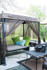 patio swing makeoverdiy show off