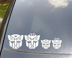Autobots Family Car Sticker Now With Autobots Cat And Dog Etsy