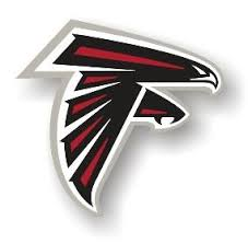 Atlanta Falcons Large Die Cut Car Magnet