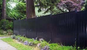 Front Yard Aluminum Black Fence Oakville Aluminum Fence Toronto