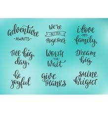 family quotes vector images over
