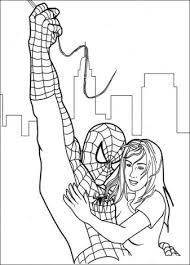 Spiderman Redder In Nood Kleurplaten