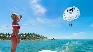 parasailing key west with fury water