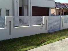10 Perimeter Wall Ideas Modern Fence Fence Design Concrete Fence