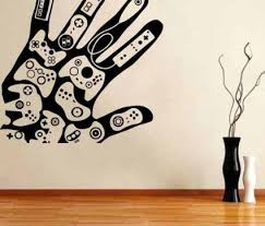 I Approve Of This Wall Art Game On Video Game Wall Art Gaming Wall Art Wall Stickers