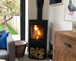 freestanding log burning stove