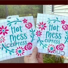 Amber S Knots Creations Wall Art Hot Mess Express Car Decal Poshmark