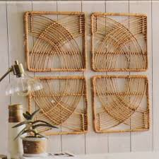 new 4 piece set threshold rattan wicker
