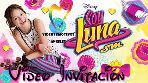 Soy Luna Invitacion En Video Para Cumpleanos Personalizada 299