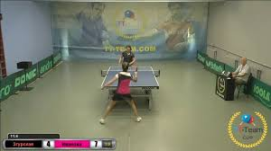Open table tennis tournament TT-Cup. Video - Zgurska Tetyana vs Ivanova  Nataliya