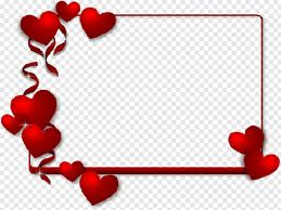 red hearts valentine s day frames