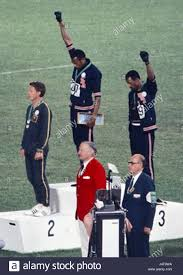 John Carlos Tommie Smith Peter Norman 1968cr Stock Photo ...