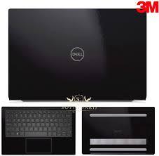 Amazon Com Sopiguard Skin For Dell Xps 13 Inch 7390 Edge To Edge Coverage Vinyl Sticker Skin Wrap 3m Gloss Black Electronics