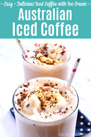 australian iced coffee cold coffee