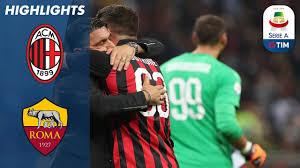 AC Milan 2-1 Roma | Cutrone All'Ultimo Respiro