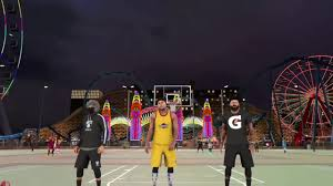 my new wallpaper and nba 2k17 mypark