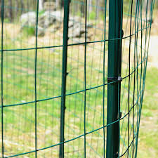 Garden Zone 50 Ft X 4 Ft Green Pvc Coated Steel Welded Wire Garden Welded Wire Rolled Fencing In The Rolled Fencing Department At Lowes Com