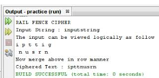 Kill The Code Rail Fence Cipher In Java