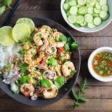 Quick Spicy Thai Shrimp Salad - Nerds ...