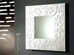 square mirror wall decor ideas 4 piece