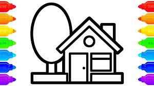 Tô Màu Ngôi Nhà | Vẽ Ngôi Nhà