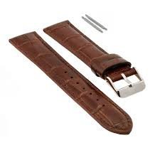 leather watch band 18mm 20mm 22mm