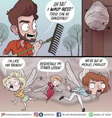 Adam Ellis - No WASPs were harmed in the making of this comic. | Facebook