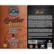 chemical guys leather scent premium air