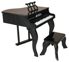 key fancy baby grand piano