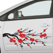 Cherry Blossom Car Decals Dezign With A Z