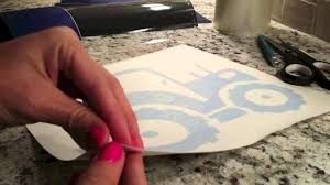 Introduction To Vinyl Weeding Reverse Weeding And Transfer Tape Youtube