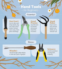 what gardening tools a beginner needs