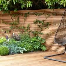 Horizontal Fence Panels Modern Garden Fence Design Ideas