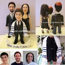 unique bar mitzvah cake topper custom
