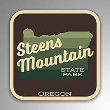 Jmm Industries Steens Mountain State Park Oregon Vinyl Decal Sticker Retro Vintage Look 2 Pack 4 Inches By 4 Inches Premium Quality Uv Protective Laminate Sps433 Amazon Com